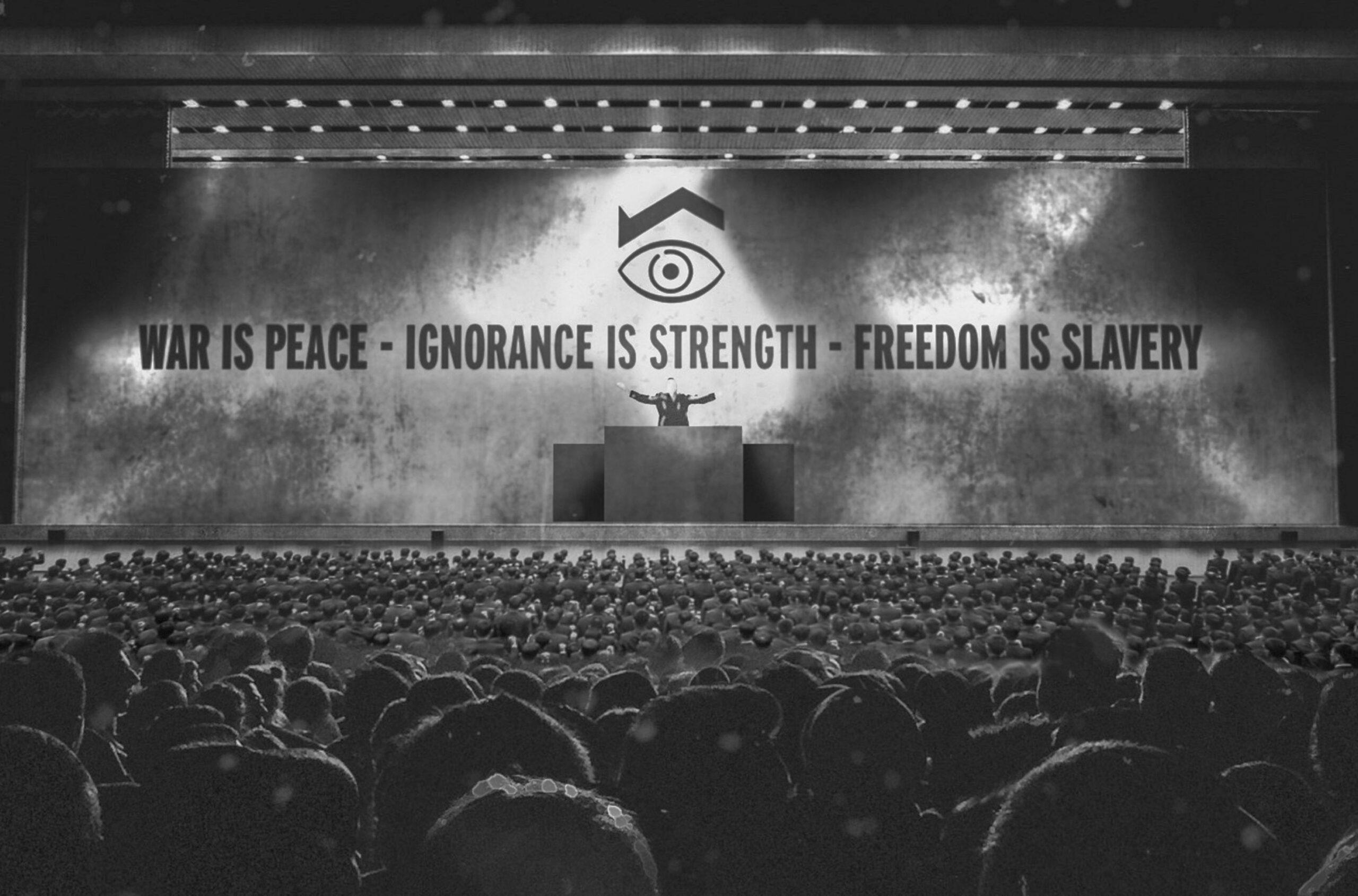 '1984' di Orwell vs 'Un Mondo Nuovo' di Huxley